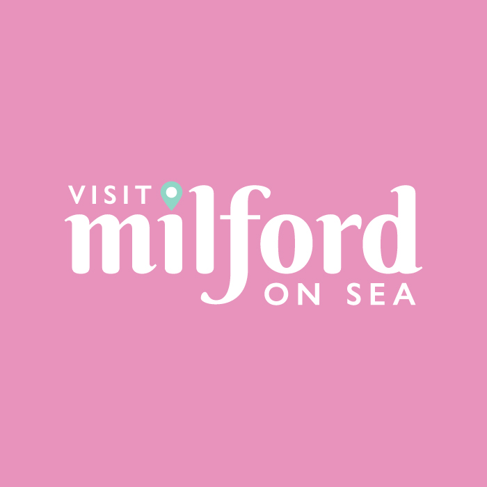 Visit Milford on Sea Logo Pink