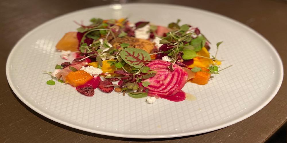Visit Milford on Sea La Perle Autumn Salad