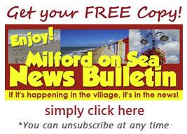 Milford on Sea News Bulletin logo