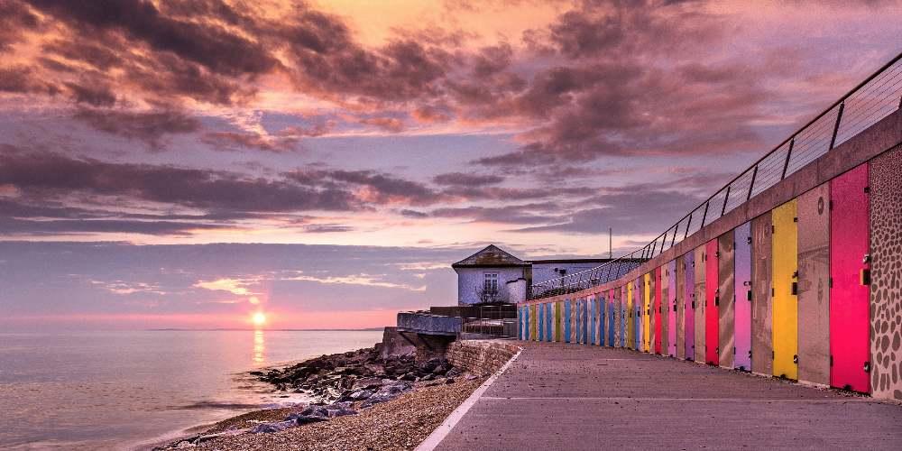 Visit Milford on Sea Hurst Road beach