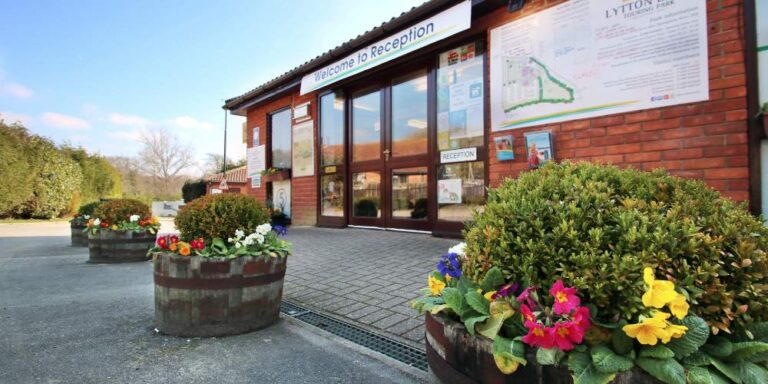 Visit Milford on Sea reception at Lytton Lawn