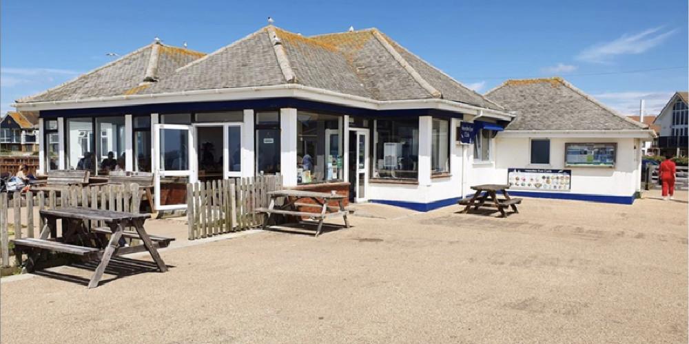 Visit Milford on Sea Needles Eye outside