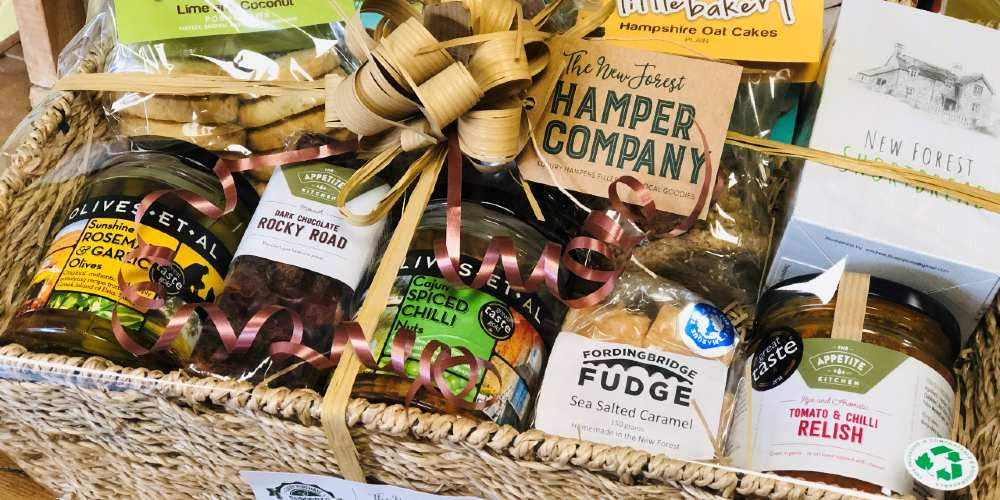 Visit Milford on Sea hamper