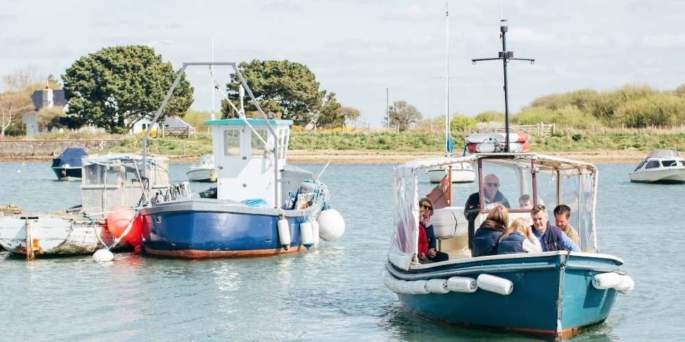 Visit Milford on Sea Hurst Castle ferry