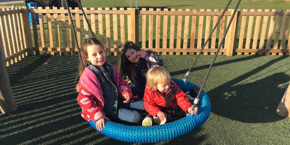 Visit Milford on Sea playpark at Hurst Road