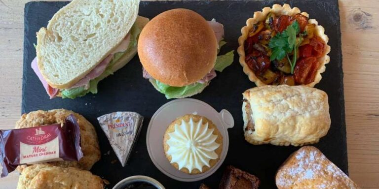 Visit Milford on Sea afternoon tea at Saltwater cafe