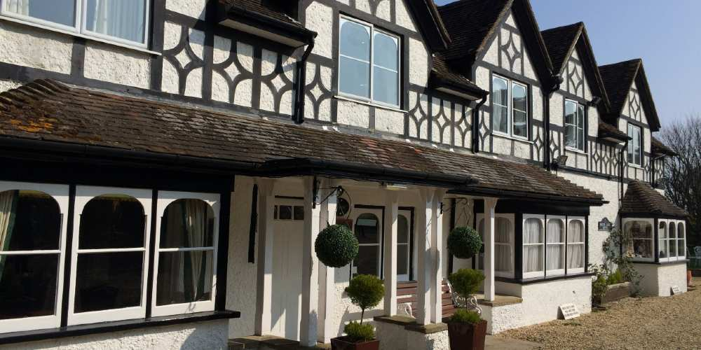 Visit Milford on Sea South Lawn Hotel front
