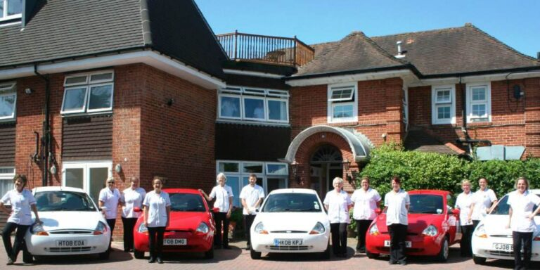 Visit Milford on Sea staff at St George's Nursing Home and Day Care