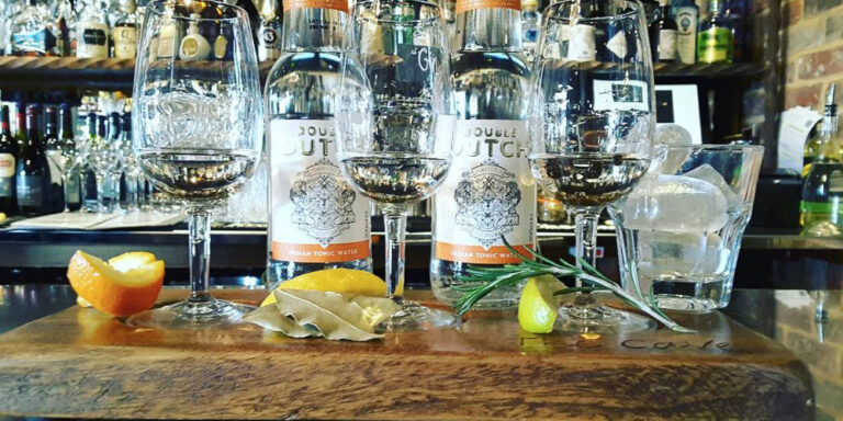 Visit Milford on Sea gin tasting at The Cave
