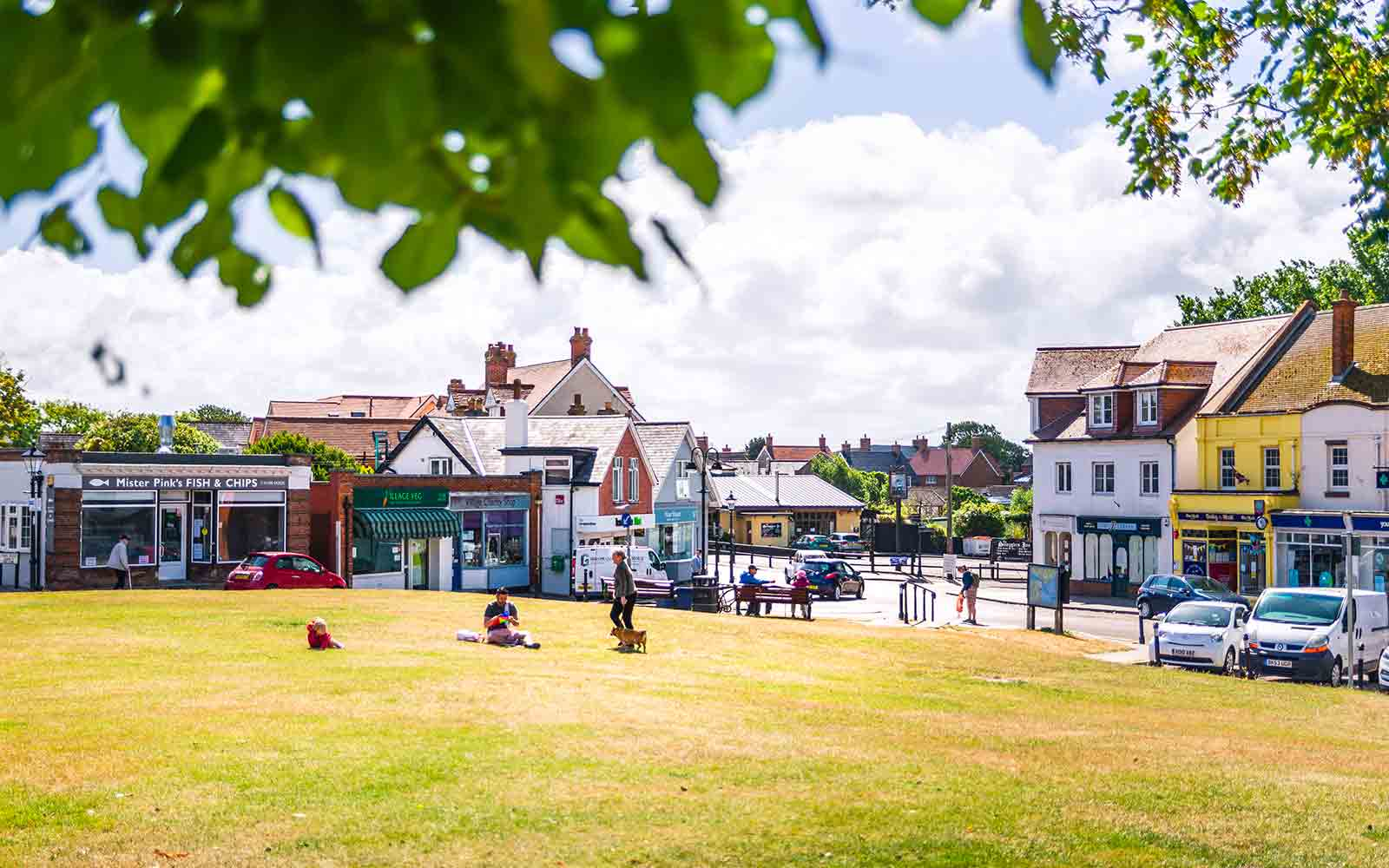 Visit Milford on Sea Sitting on the village green