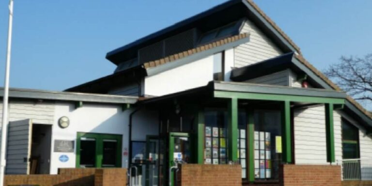 Visit Milford on Sea front of the Community Centre