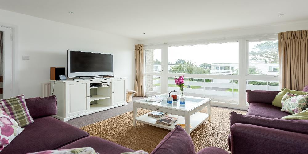 Visit Milford on Sea lounge at Haven View