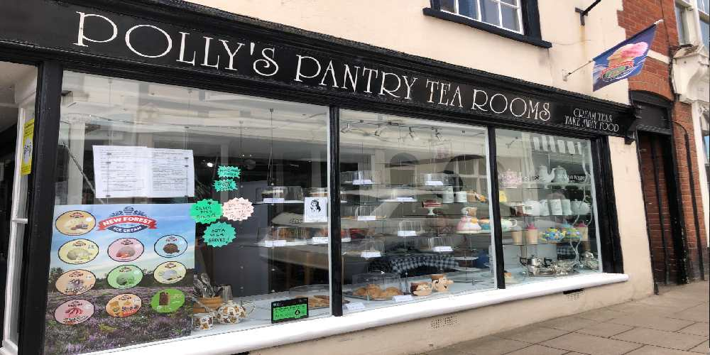 Visit Milford on sea front of Polly's Pantry