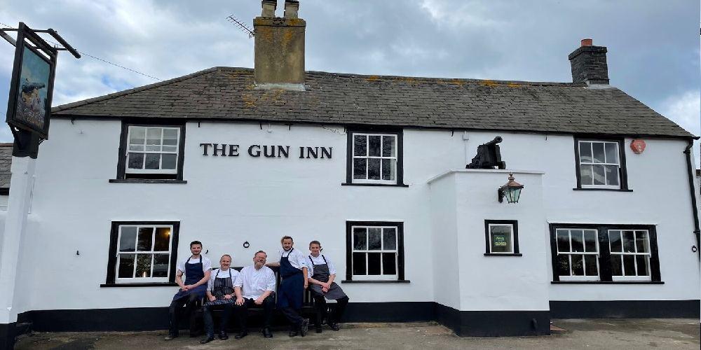 Visit Milford on Sea The Gun Inn Keyhaven